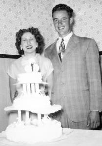 Barbara & Waylon Scheller May 16, 1953