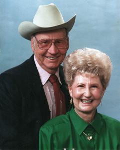 Reba Hood with husband Bennie