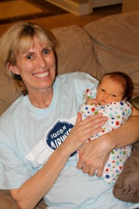 Janet Martin with grandbaby