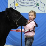 Kylee Kowalewski of Panhandle FFA exhibited the  Reserve Champion Steer