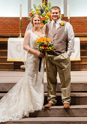 Mr. and Mrs. Andrew Sankie Harlan